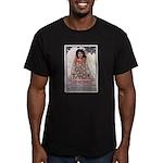 Lest We Perish Famine Men's Fitted T-Shirt (dark)