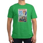 Clear the Way Poster Art Men's Fitted T-Shirt (dar