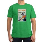 Get Hot Keep Moving Men's Fitted T-Shirt (dark)