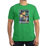 Sky's the Limit Poster Art Men's Fitted T-Shirt (d