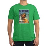We'll Fly Em Pilot Men's Fitted T-Shirt (dark)