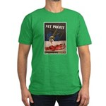 WWII Malaria Propaganda Men's Fitted T-Shirt (dark
