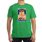 Army Defend Your Country Men's Fitted T-Shirt (dar