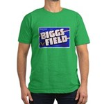 Biggs Field Texas Men's Fitted T-Shirt (dark)