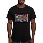 Fort Bliss Texas Men's Fitted T-Shirt (dark)