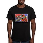 Camp Claiborne Louisiana Men's Fitted T-Shirt (dar