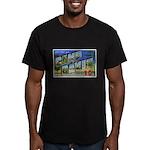 Camp Davis North Carolina Men's Fitted T-Shirt (da