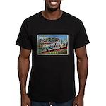 Camp Hood Texas Men's Fitted T-Shirt (dark)