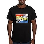 Camp Kearns Utah Men's Fitted T-Shirt (dark)
