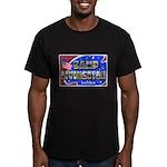 Camp Livingston Louisiana Men's Fitted T-Shirt (da