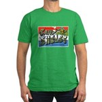 Camp Shelby Mississippi Men's Fitted T-Shirt (dark