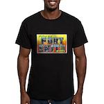 Fort Smith Arkansas Men's Fitted T-Shirt (dark)
