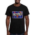 Camp Swift Texas Men's Fitted T-Shirt (dark)