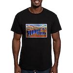 Tinker Field Oklahoma Men's Fitted T-Shirt (dark)