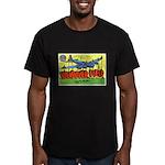 Wendover Field Utah Men's Fitted T-Shirt (dark)