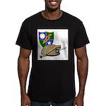 Army Ranger Beret Dagger Men's Fitted T-Shirt (dar