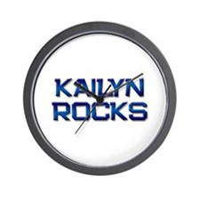 kailyn rocks Wall Clock
