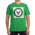 Naval Reserve Men's Fitted T-Shirt (dark)