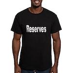 Reserves Men's Fitted T-Shirt (dark)