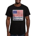 Afghanistan Veteran Men's Fitted T-Shirt (dark)