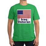 Iraq Veteran Men's Fitted T-Shirt (dark)