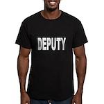 Deputy Law Enforcement Men's Fitted T-Shirt (dark)