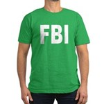 FBI Federal Bureau of Investi Men's Fitted T-Shirt