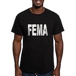 FEMA Men's Fitted T-Shirt (dark)