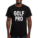 Golf Pro Men's Fitted T-Shirt (dark)