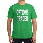 Options Trader Men's Fitted T-Shirt (dark)