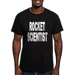 Rocket Scientist Men's Fitted T-Shirt (dark)