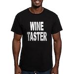 Wine Taster Men's Fitted T-Shirt (dark)
