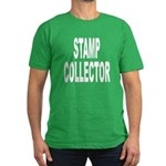 Stamp Collector Men's Fitted T-Shirt (dark)