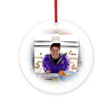 Canopy Club Cafe Christmas Ornament (Round)
