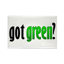 Got Green? Rectangle Magnet