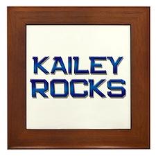 kailey rocks Framed Tile