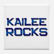 kailee rocks Tile Coaster