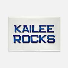 kailee rocks Rectangle Magnet