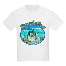 Fiaba and Friends Jose Snorkeling Kids T-Shirt