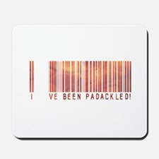 Padackled - Red Barcode Mousepad