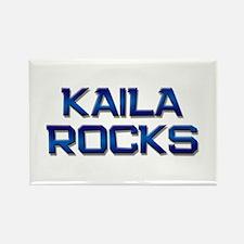 kaila rocks Rectangle Magnet