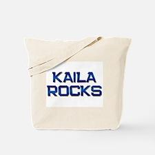 kaila rocks Tote Bag