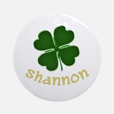 Shannon Irish Ornament (Round)