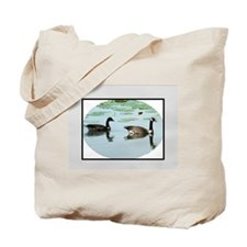 Funny Wild geese Tote Bag