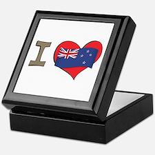 I heart New Zealand Keepsake Box