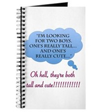 Tall and Cute boys Journal