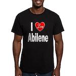 I Love Abilene Men's Fitted T-Shirt (dark)