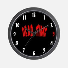 Dead Time Wall Clock
