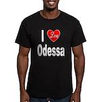 I Love Odessa Men's Fitted T-Shirt (dark)