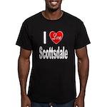 I Love Scottsdale Men's Fitted T-Shirt (dark)